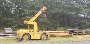 Grove Ind 24 Diesel Carry Deck Crane Located In Connecticut