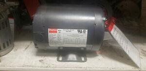 Dayton Electric Motor 3n012bd 1 Hp 1725rpm 208 230 460 Volts