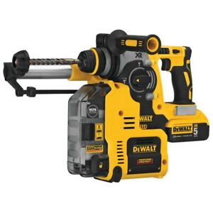 Dewalt Dch273p2dho 1 Dsd Rotary Hammer Kit With Dust Extractor