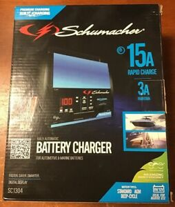 new Schumacher Electric Automatic Battery Charger sc1304
