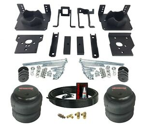 Air Helper Spring Kit Bolts On Over Load Level For 2011 2016 Ford F250 F350 2wd
