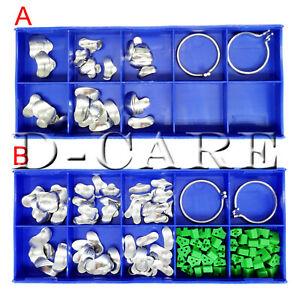 Dental Sectional Contoured Matrices Refill Matrix Band Md Rings Add on Wedges Dc