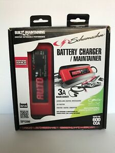 Schumacher Sp1286 3a Battery Charger maintainer Brand New