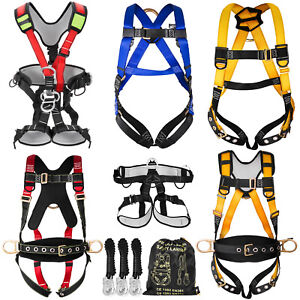 Fall Protection Construction Harness amp Shock Absorbing Roofing Carpenters