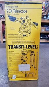 Cst berger 54 200k 20x Transit Level Kit With Tripod Rod And Carrying Case