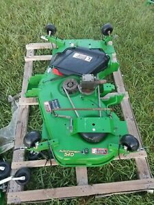 2018 John Deere 2025r 54 Auto Connect Mower Deck