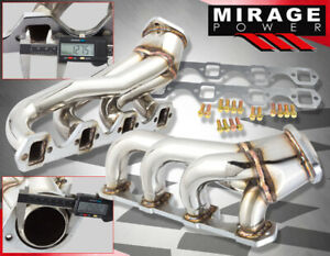 For 86 93 Ford Mustang Lx gt 5 0 V8 Engine Stainless Steel Race Exhaust Header