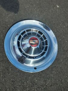 One 1954 54 Chevrolet Chevy Impala Bel Air Nomad Wheel Cover Hubcap