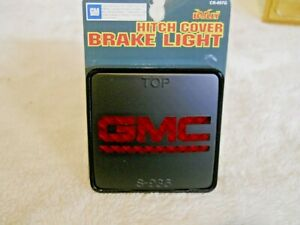 Bully Trailer Hitch Cover Gmc Logo Brake Light For 2 Receiver
