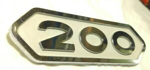 1961 1968 Oem Dodge 200 power Wagon town Wagon sweptline Emblem