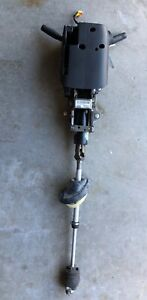 2013 Zl1 Camaro Steering Column Assembly With Key Oem