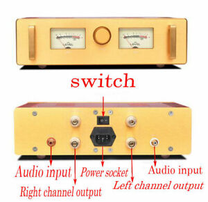 Upgraded Version Hood1969 Gold Seal Power Tube Class A 15w 2 Finished Amplifier