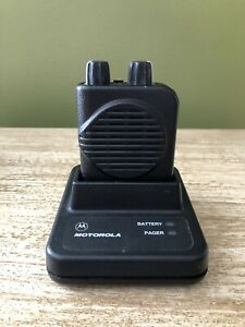 Motorola Minitor Iv 2 channel Vhf Pager 151 158 9999 Mhz Non Stored Voice