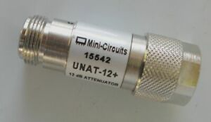 Mini Circuits 15542 Unat 12 Attenuator N Type 12db Dc 6 Ghz 50 Ohm
