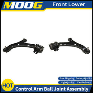 Moog 2pcs Front Lower Control Arm Ball Joint For 2005 2010 Ford Mustang Bs11