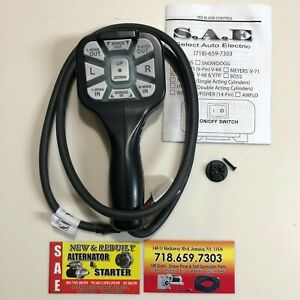 Meyers Pistol Grip Snow Plow Controllers 22695dc For 12 Pin V68 V70 V Plow