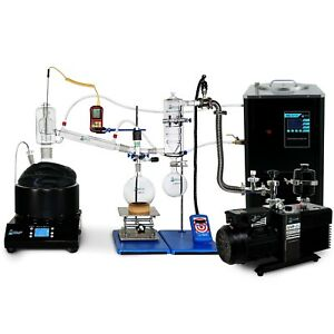 Usa Lab Premium 5l Short Path Distillation Turnkey Kit V2 Usa Made Glass