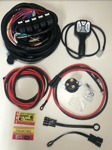 Boss V Snow Plow Truck Side Controller Wiring Kit Rt3 Sh2 Smtouch2 Msc15100b