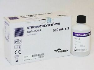New Sysmex Swh 200a Stromatolyser wh 3x500ml