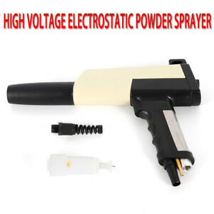 High Quality Replacement Electrostatic Manual Powder Coating Spray Gun Kit Sale
