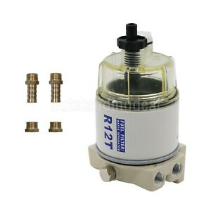 Diesel Fuel Filter Water Separator For R12t Marine Spin On Housing 120at