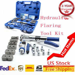 Universal Hydraulic Expander Flaring Tool Brake Pipe Fuel Line Cutter Us Stock