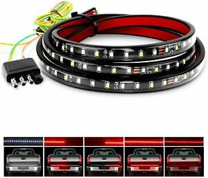 Nilight 60 Led Strip Light Bar Truck Tailgate Rear Brake Reverse Turning Signal