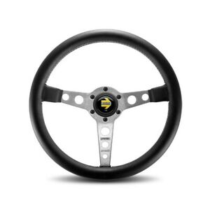 Momo Prototipo Silver Steering Wheel With Hub To Fit Porsche 911 912 Pro35bk2s
