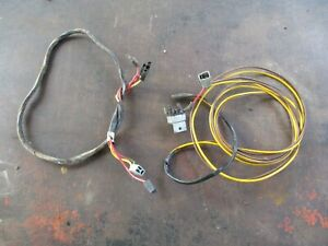 66 Dart Gt Convertible Top Power Motor Wire Harness Oem Complete All Plugs