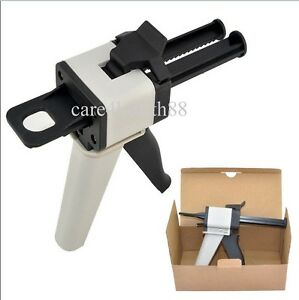 1 1 2 1 Dental Impression Mixing Material Dispenser Dispensing Caulking Gun 50ml