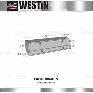 Westin 80 Tbs200 72 Brute Contractor Topsider Tool Box