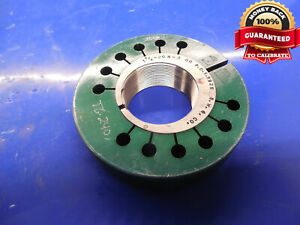 1 5 8 20 N 3 Thread Ring Gage 1 625 Go Only P d 1 5925 N 2 N 3 Inspection