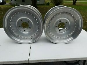 Centerline Wheels Rims 15x7 4 75 Gm Pattern Chevy Olds Pontiac Buick