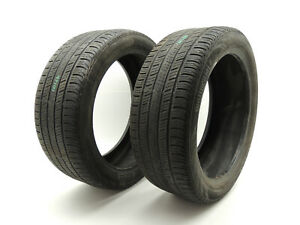 Two 225 45 R18 91v 225 45 18 Inch Tires 5 32 Continental Contiprocontact Ssr 934