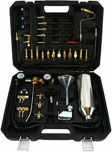 Non Dismantle Fuel Injector Cleaner Kit Fuel System Tester Cleaning Tool Set