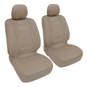 Prosynthetic Beige Leather Auto Seat Covers For Honda Accord Sedan Coupe