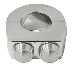 V Factor 15154 Chrome Billet Switch 1quot; Clamps for Custom Use Harley Metric $49.95