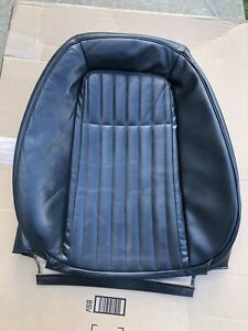 1992 93 Mustang Gt Cobra Driver Black Leather Convertible Seat Cover Foxbody