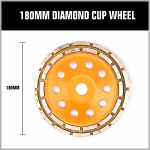 4 5 7 Diamond Cup Grinding Wheel Double Row Concrete 18 28 Seg Angle Grinder