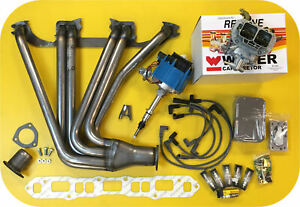 Power Pack Header Weber Carb Hei Distributor For Toyota Land Cruiser Fj40 Fj60