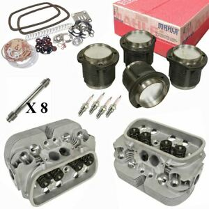 1914cc Air cooled Vw Engine Rebuild Kit Top End Gtv 2 Heads And Mahle Pistons