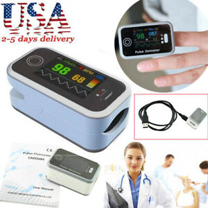 Portable Color Oled Finger Pulse Oximeter Spo2 Pr Monitor pc Software Easy Use