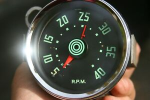 55 56 International Truck Vintage Tachometer With Tell Tale Feature