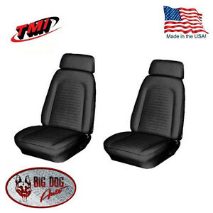 1969 Camaro Front Bucket Seat Upholstery In Your Choice Of Factory Colors