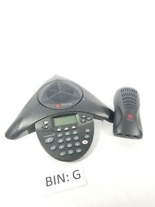 Polycom Soundstation 2 Display Conference Phone Station W wall Module g