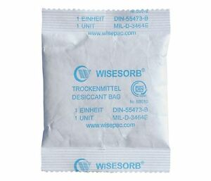 300 Tyvek Desiccant Bags With Montmorillonite Clay Desiccant