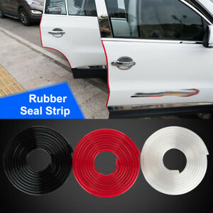 18ft Red Car Door Edge Guard Trim Molding Rubber Seal Strip Scratch Protector Us