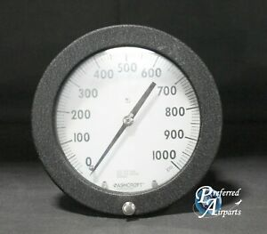 New Old Stock Ashcroft Duraguage 0 To 1000 Psi Pressure Gauge P n 60 1377ssxsg