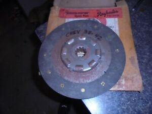 1938 1942 Chevrolet Clutch Plate Nors 1939 1940 1941