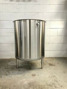 50 Gallon 304 Stainless Steel Vessel Mash Tun Mixing Tank cold Brew Separator